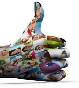 bigstock-Social-media-network-Hand-pai-32114582